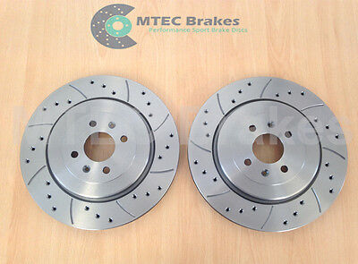 MGF 1.8 Trophy 304mm Front Grooved Brake Discs 01-02 • 79.99£