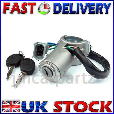 Ignition Starter Lock Barrel & Keys Compatible With IVECO DAILY 2000 - 2006 • 27.49£