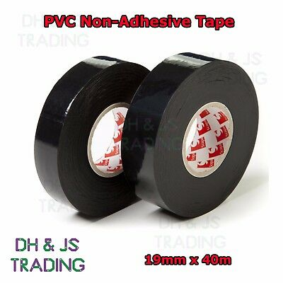 Non-Adhesive PVC Wiring Loom / Harness Looming Tape 19mm X 40m Roll  • 3.95£