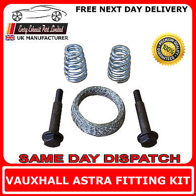 Vauxhall Astra Mk IV Fitting Kit For Rear Exhaust Box Includes Gasket • 9.66£