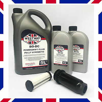 7L Ford Powershift Gearbox Fluid Kit BO-DC & Filter By Westway Lubricants UK • 79.99£