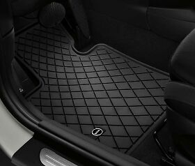 Genuine MINI F56 Tailored Front Rear Rubber Floor Mats Set Of 4 51472354156 164 • 65£