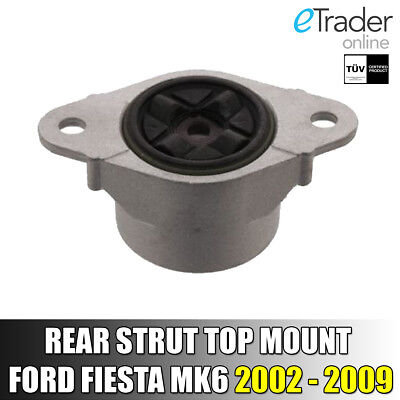 For FORD FIESTA MK6 REAR SHOCK ABSORBER TOP STRUT MOUNTING MOUNT X 1 NEW 02 - 09 • 12.99£