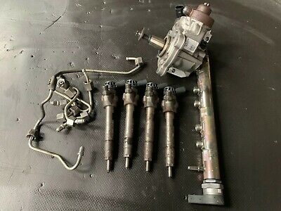 Bmw 1/3/5 Series 2.0d Set Of Injectors And Fuel Pump 7810702 7810696 2010 On • 210£