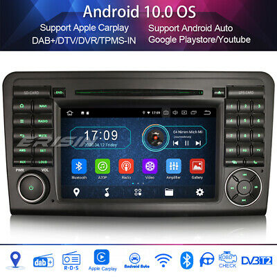 DAB+Car Stereo For Mercedes Benz ML/GL-Class W164 X164 WIFI Carplay Android 10.0 • 546.35£