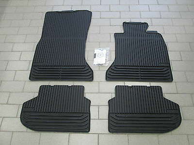 New Genuine BMW F10 5 Series Tailored Rubber Car Mats Front Rear 51472346785 • 79.99£