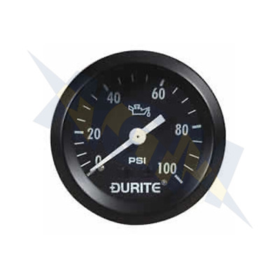 Genuine Durite 0-533-16 Mechanical Oil Pressure Gauge With 12' Capillary - 52mm • 35.99£