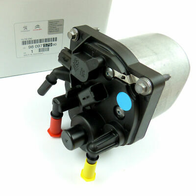 PEUGEOT 207 208 2008 308 3008 4008 1.4 1.6 HDI Fuel Filter Housing 9809757980 • 69.99£