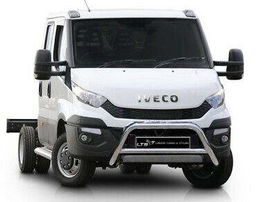 Iveco Daily Truck Chrome Nudge A-bar Stainless Steel Bull Bar 2015 Onwards W K • 169.99£
