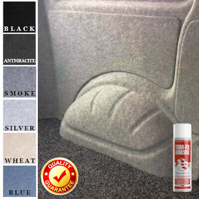 Various Size 4 Way Stretch Van Lining Carpet With Trimfix Spray Glue • 29.99£