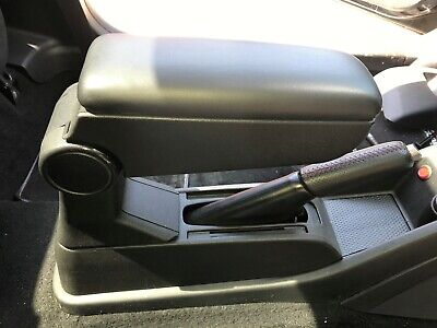 Fiat G.p Abarth Mint Con Black Leather Complete Centre Console Arm Rest Full Set • 99.99£