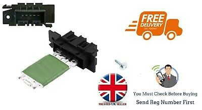 Heater Fan Blower Motor Resistor For Fiat Ducato Peugeot Boxer Citroen Relay 06> • 7.95£