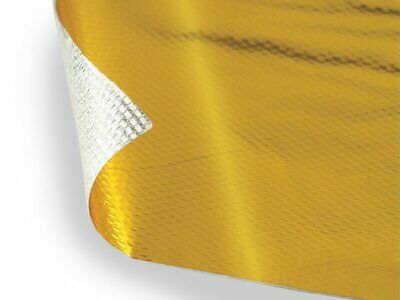 Exhaust Turbo Heat Shield-Gold Reflective Heat Barrier.Adhesive Back 12  X 12  • 11.06£