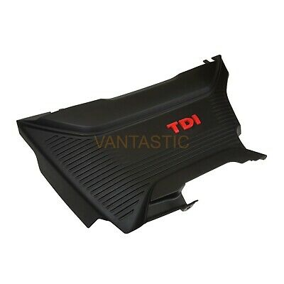 Vw T6 Transporter Caravelle New Engine Cover Trim Piece Red Tdi Logo (2015-2019) • 49.95£
