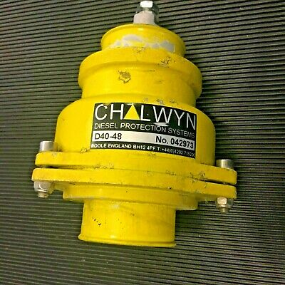 Chalwyn Valve D40-48 Diesel Protection  Free Uk Delivery • 45£