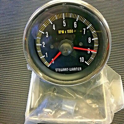 Stewart-warner Tachometer Cable Drive 10000 Rpm 1ok Free Uk Delivery • 175£