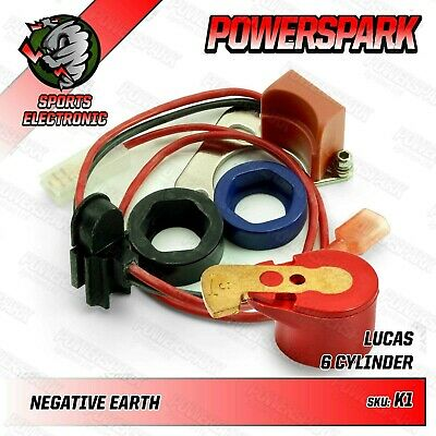 Powerspark Electronic Ignition Kit For Lucas 22D6 & 25D6 Distributor • 39.95£
