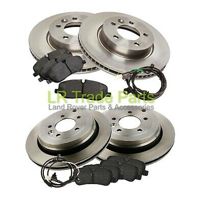 Land Rover Discovery 3 2.7 Tdv6 (2004-09) Front And Rear Brake Disc And Pad Kit • 129.95£