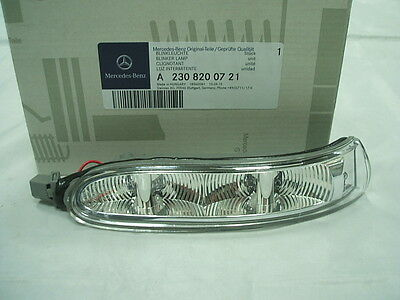 Genuine Mercedes-Benz CLK & SL LH Mirror Repeater Indicator Lamp A2308200721 • 29.85£