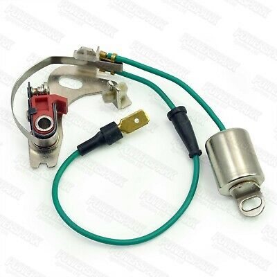 Lucas 43D And 45D Distributor Points & Condenser Set NEW • 2.75£