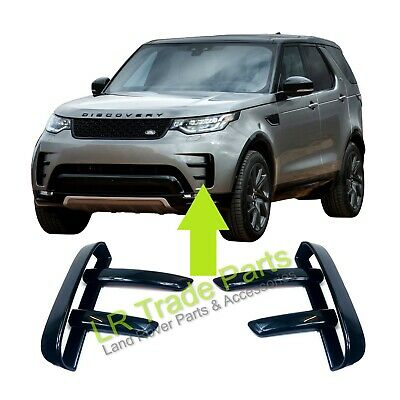 Land Rover Discovery 5 Front Bumper Dynamic Gloss Black Vent Trims Hse Upgrade • 49.95£