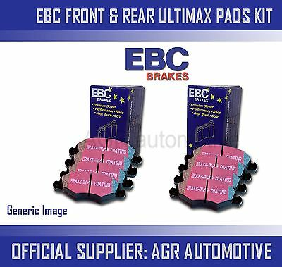 Ebc Front + Rear Pads Kit For Bmw X5 3.0 Twin Td (e70)(40d) 2010-13 • 69.96£