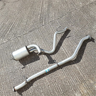 LAND ROVER DEFENDER 90 200TDi 09/1990-12/1993 CENTER SPORTS PIPE & REAR EXHAUST  • 89.25£