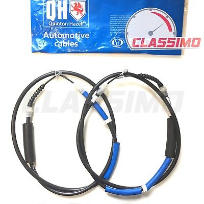 Rear Handbrake Cable Pair For FORD MONDEO Mk 3 Saloon - 2000 To 2007 - QH • 24.99£