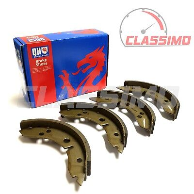 Rear Brake Shoes Set Of 4 For MORRIS MINOR - 1955-1971 - Quinton Hazell • 22.99£