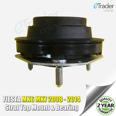 Ford Fiesta Mk7 2008-2014 Front Suspension Strut Top Mount X 1 Bearing New • 18.99£