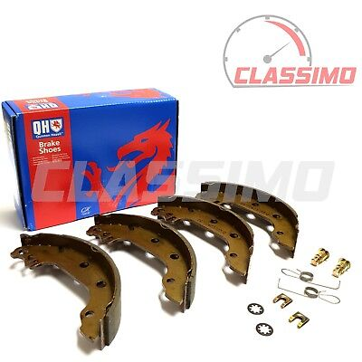 Rear Brake Shoes Set Of 4 For FORD FIESTA MK 1 Inc XR2 - 1975 To 1983 - QH • 14.99£