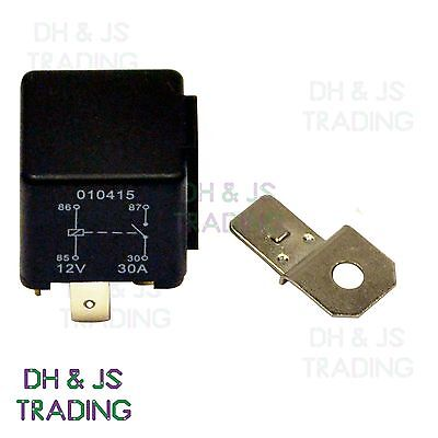 12V Relay 4 PIN Automotive 30AMP 30a Changeover RY1 Normally Open Contact • 2.99£