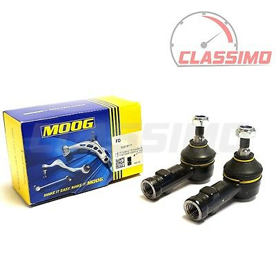 Moog Track Tie Rod End Pair For FORD ESCORT Mk 2 - MEXICO RS1600 RS1800 RS2000 • 24.99£