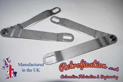 VW MK1 Caddy Stainless Steel Tailgate Hinges / Stays • 63.25£
