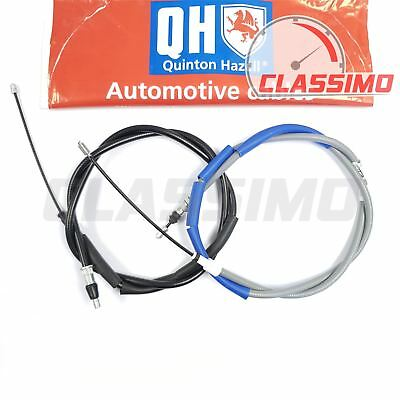 Rear Handbrake Cable Pair - PEUGEOT 205 - With Rear Discs Inc 1.9 GTi - 1983-98 • 22.99£