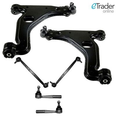 Vauxhall Zafira B Wishbones Arms X 2 & Drop Links & 2x Track Rod Ends Outer • 54.98£