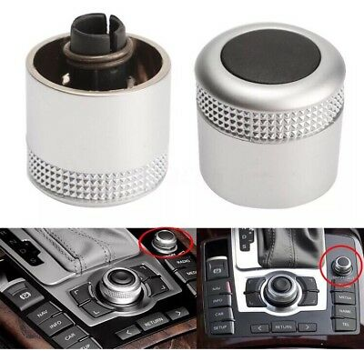 Multimedia MMI Volume Knob Rotary Button Switch Setting For Audi 4F0919070 • 11.99£