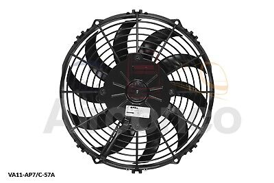 Spal Axial Fan, VA11-AP7/C-57A, 12v (Pull) 10.0  (255mm) - Genuine Product • 57.99£