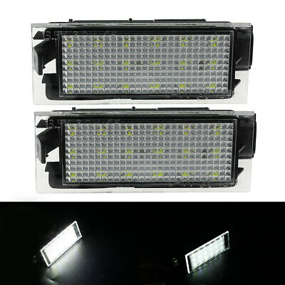 1 Pair LED Number License Plate Lights For Renault Clio Laguna Megane 8200480127 • 11.69£