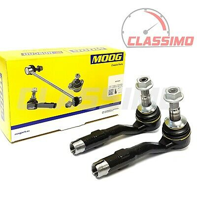 Moog Track Tie Rod End Pair For BMW 5 6 7 SERIES E60 E61 E63 E64 E65 - 2003-2010 • 34.99£