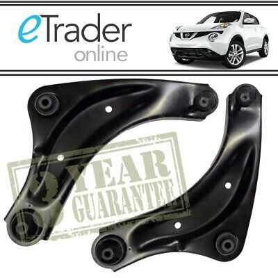 FOR Nissan Juke Front Lower Wishbones 2010-2017 Suspension Arms Wishbone X2 PAIR • 53.98£