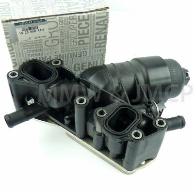 RENAULT TRAFIC OPEL VIVARO 1.6 DCi CDTI 14- Oil Cooler Filter Housing 152085948R • 73.48£