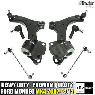 For FORD MONDEO MK4 07-15 TRACK CONTROL ARMS WISHBONES & LINK BARS & ROD ENDS • 99.98£
