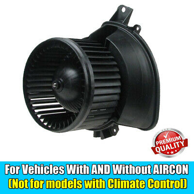Fiat Grande Punto & Corsa D Heater Blower Fan Motor Assembly • 41.99£