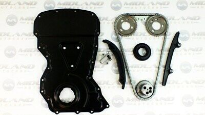 Timing Chain Kit And Cover For Ford Transit 2.2 Fwd Mk7 Mk8 2006-2014 On 1682478 • 145.99£