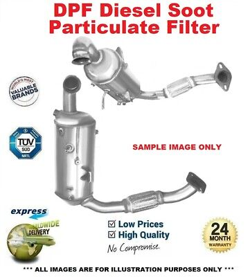 Cat & DPF SOOT PARTICULATE FILTER For PEUGEOT 207 CC 1.6 HDi 2007-2015 • 251.99£
