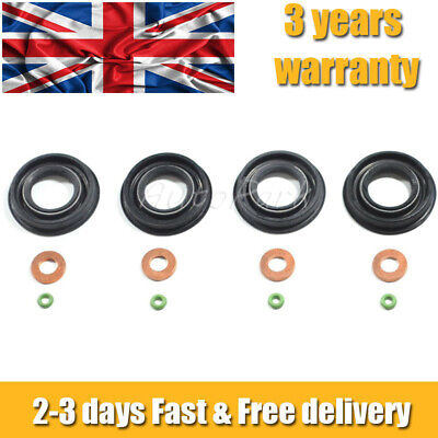 Ford Transit Mk7 2.2 2.4 3.2 Tdci Fuel Injector Seals Washer Oring • 10.99£
