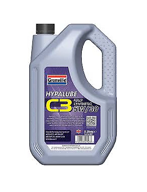Granville Hypalube Fully Synthetic 5w30 C3 Engine Oil 5 Litre Petrol And Diesel • 16.95£