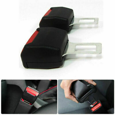 2 X Universal Car Safety Seat Belt Extender Extension Buckle Lock Clip • 5.99£