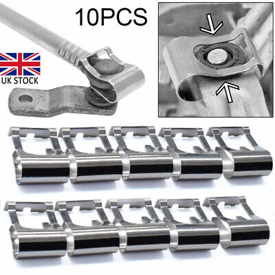 10X Car Windscreen Wiper Link Linkage Rods Repair Clip Spring Auto Parts Kit UK • 8.10£